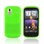 HTC Amaze 4G Silicone Case - Neon Green
