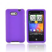 HTC Aria Silicone Case, Rubber Skin - Purple