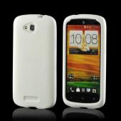 White Silicone Case for HTC One VX