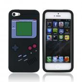 Apple iPhone 5 Silicone Case - Black Retro Gamer