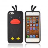 Apple iPhone 5 Silicone Case - Black Duck