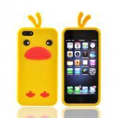Apple iPhone 5 Silicone Case - Yellow Duck