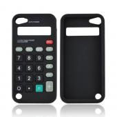 Apple iPod Touch 5 Silicone Case - Black Calculator