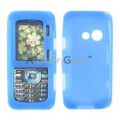 LG Rumor 2 / LG Cosmos Silicone Case, Rubber Skin - Blue
