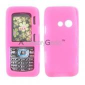 LG Rumor 2 / LG Cosmos Silicone Case, Rubber Skin - Hot Pink