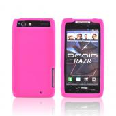 Motorola Droid RAZR/ RAZR MAXX Silicone Case - Hot Pink