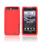 Motorola Droid RAZR/ RAZR MAXX Silicone Case - Red