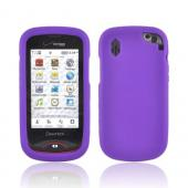 Pantech Hotshot Silicone Case - Purple