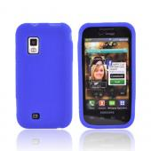 Samsung Fascinate i500 Silicone Case - Textured Blue