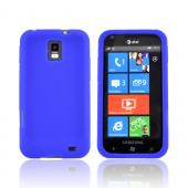 Samsung Focus S i937 Silicone Case - Blue