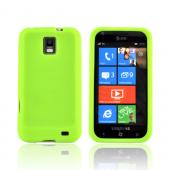 Samsung Focus S i937 Silicone Case - Neon Green