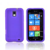 Samsung Focus S i937 Silicone Case - Purple
