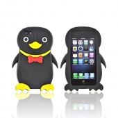 Premium Apple iPhone 5 Silicone Case - Black Duck