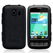 Original Otterbox Commuter Series LG Optimus S / U Hard Case Silicone Surrounding w/ Screen Protector, LGX4-OPTIM-20-EVOTR - Black