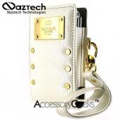 Naztech Prive Cell Phone Case w/ Hand Strap (FUT) - White