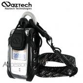 Naztech Sport Phone Case w/ Belt Clip, Armband, Neckstrap &amp; Utility Clip - Clear Black