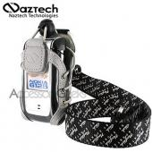 Naztech Sport Phone Case w/ Belt Clip, Armband, Neckstrap &amp; Utility Clip - Clear Silver