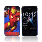 Original Marvel AT&amp;T/ Verizon iPhone 4 Hardshell Hard Case, MCU0143 - Red/ Gold Iron Man Reflections