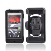 Original Otterbox Motorola Droid X MB810 Defender Series Case w/ Holster and Clip, MOT2-DROIDX-20 - Black