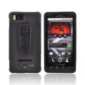 Original BodyGlove Motorola Droid X MB810 Snap-on Case w/ Clip, MOTDRDXCOVBG - Black