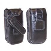 Original TurtleBack Premium Nokia 6085 Leather Case w/ Swivel Belt Clip - Black