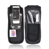 Original TurtleBack Premium Sprint/Nextel Motorola i335 Heavy Duty Nylon Case w/ Steel Belt Clip - Black