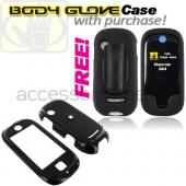 Motorola Evoke QA4 Hard Case - Black (FREE Body Glove Case CRC90962)