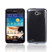 Original Rearth Samsung Galaxy Note Ringke Slim Hard Case w/ Screen Protector - Metallic Gray