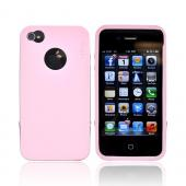 Original Rearth Apple iPhone 4S Ringke Steel Silicone Case w/ Steel Bumper, Lanyard & Screen Protector - Baby Pink