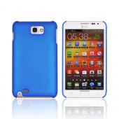 Original Incipio Feather Samsung Galaxy Note Ultra-Thin Rubberized Hard Case, SA-251 - Blue