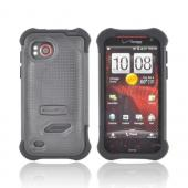 Original Ballistic HTC Rezound SG Hard Case on Silicone, SA0788-M005 - Black