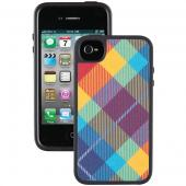 SPECK SPK-A1010 IPHONE(R) 4/4S FABSHELL CASE (MEGAPLAID SPECTRUM)