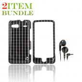 T-Mobile G2 Bundle Package - Hard Case &amp; Maxell Stereo Earbuds - (College Combo)