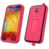 VASY Hot Pink Samsung Galaxy Note 3 Waterproof/ Dustproof/ Dirt Proof Protective Hard Case w/ Kickstand & Lanyard - Perfect Alternative to LifeProof!