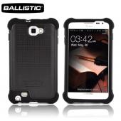 Ballistic Samsung Galaxy Note SG Hard Case on Silicone, SG0867-M005 - Black