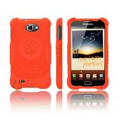Trident Perseus Samsung Galaxy Note Impact-Resistant Silicone Case - Orange