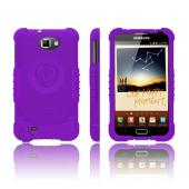 Trident Perseus Samsung Galaxy Note Impact-Resistant Silicone Case - Purple